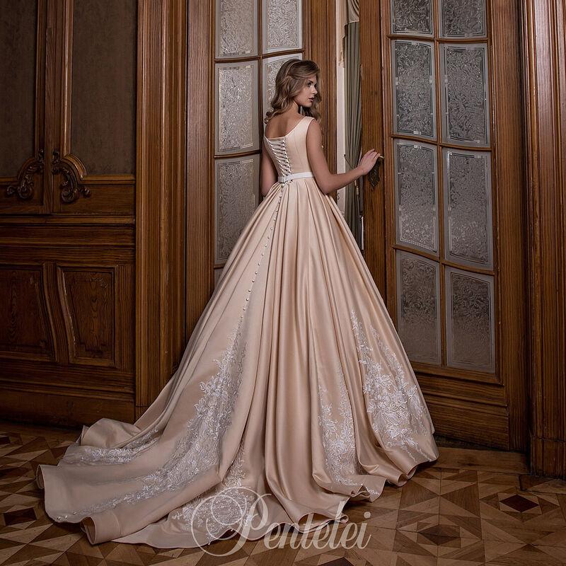Свадебное платье напрокат Lavender Свадебное платье Afina - фото 3