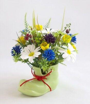 Магазин цветов Ветка сакуры Композиция «Башмачок» - фото 1