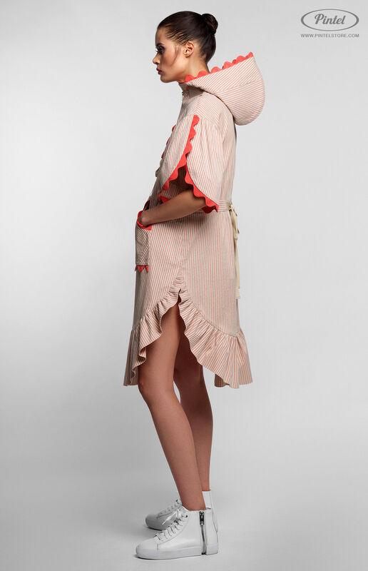 Платье женское Pintel™ Спортивное платье свободного силуэта FONG - фото 2