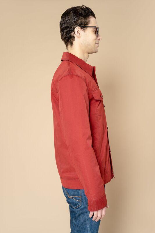 Верхняя одежда мужская Etelier Куртка мужская плащевая утепленная 4М-8530-1 - фото 4