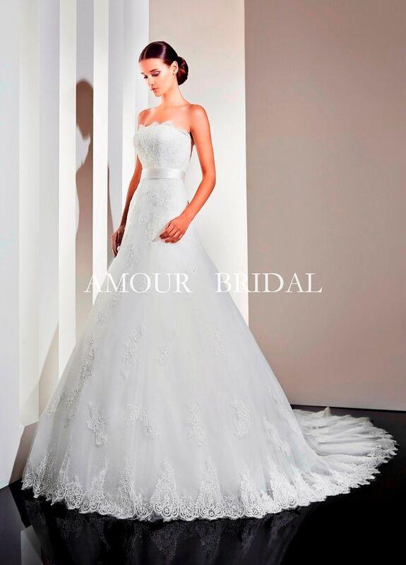 Свадебное платье напрокат Amour Bridal Платье свадебное 1210 - фото 1