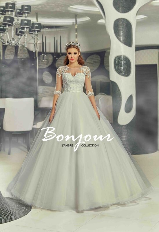 Свадебное платье напрокат Bonjour Платье свадебное «Ivet» из коллекции LAMBRE 2017 - фото 1