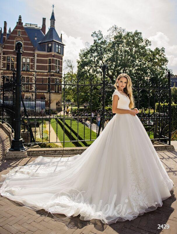 Свадебное платье напрокат Lavender Свадебное платье Gabriella - фото 1