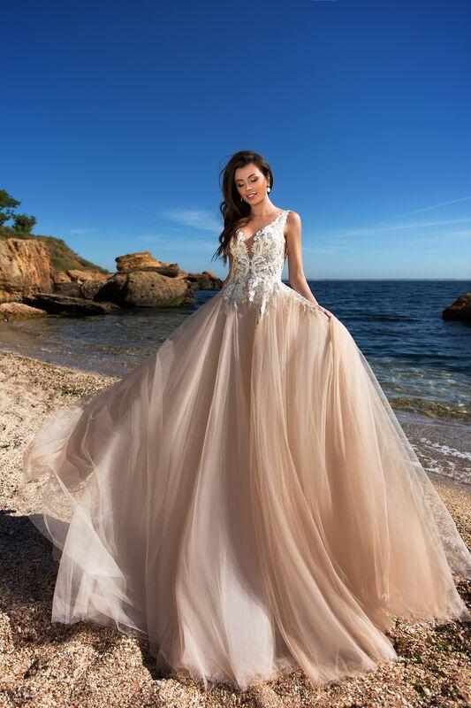 Свадебное платье напрокат Ida Torez Cocles Braun - фото 1