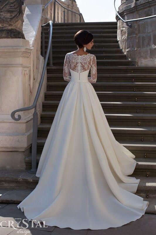 Свадебное платье напрокат Crystal Свадебное платье Sicilia - фото 2
