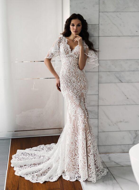 Свадебное платье напрокат Natalia Romanova Свадебное платье  Diar - фото 1