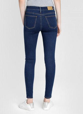 Брюки женские O'STIN Базовые суперузкие джинсы с высокой посадкой LPD109-D3 - фото 3