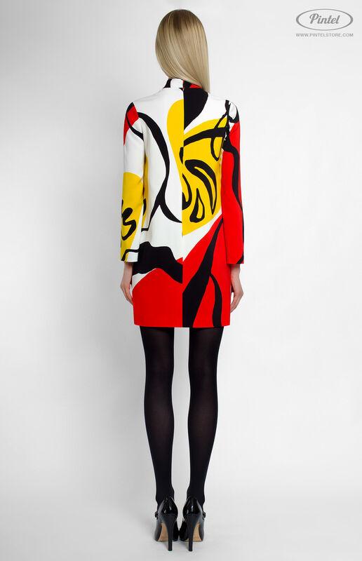 Платье женское Pintel™ Мини-платье прямого силуэта Shönien - фото 3