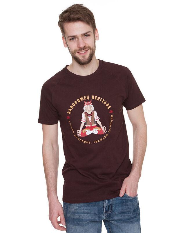 Кофта, рубашка, футболка мужская Запорожец Футболка «Yoga» SKU0118000 - фото 3