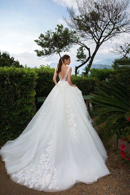 """Свадебное платье напрокат ALIZA свадебное платье """"Lenny"""" - фото 2"""