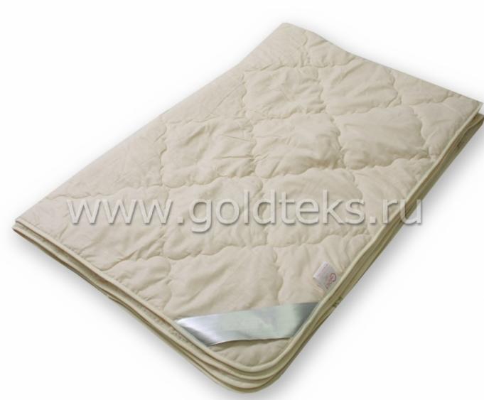 Подарок Голдтекс Всесезонное одеяло из овечьей шерсти LUXE 1014 - фото 1