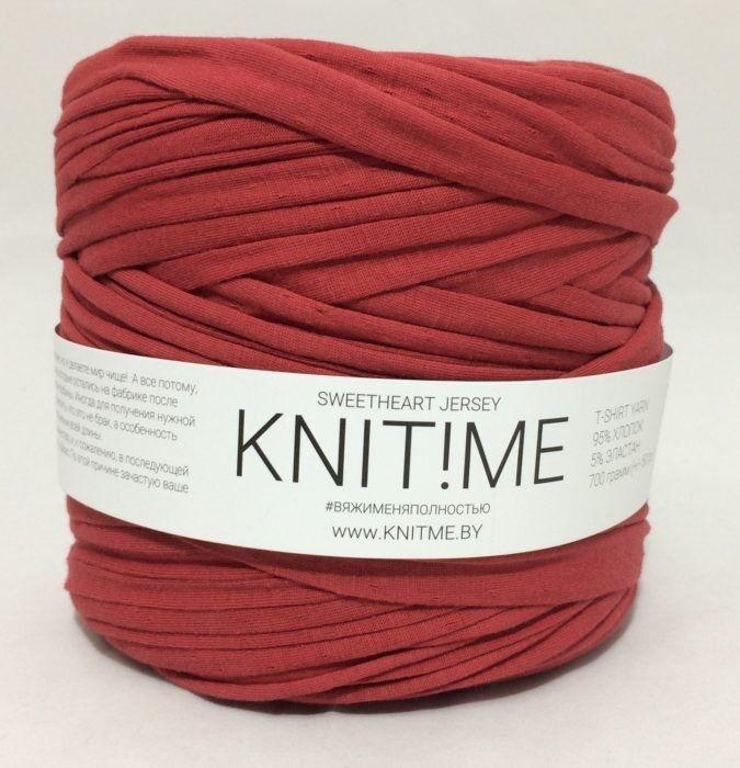 Товар для рукоделия Knit!Me Ленточная пряжа Sweetheart Jersey - SJ407 - фото 1