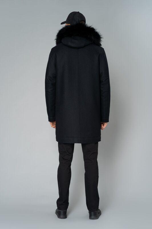 Верхняя одежда мужская Etelier Пальто мужское утепленное 6М-9294-1 - фото 4