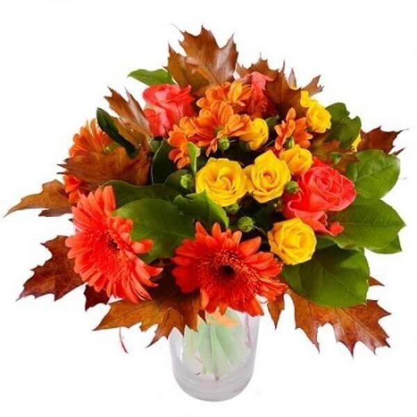 Магазин цветов Букетная Букет «Осенний» - фото 1