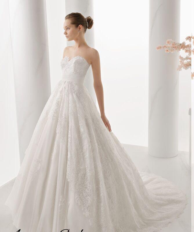 Свадебное платье напрокат Rosa Clara Платье свадебное Noche - фото 1