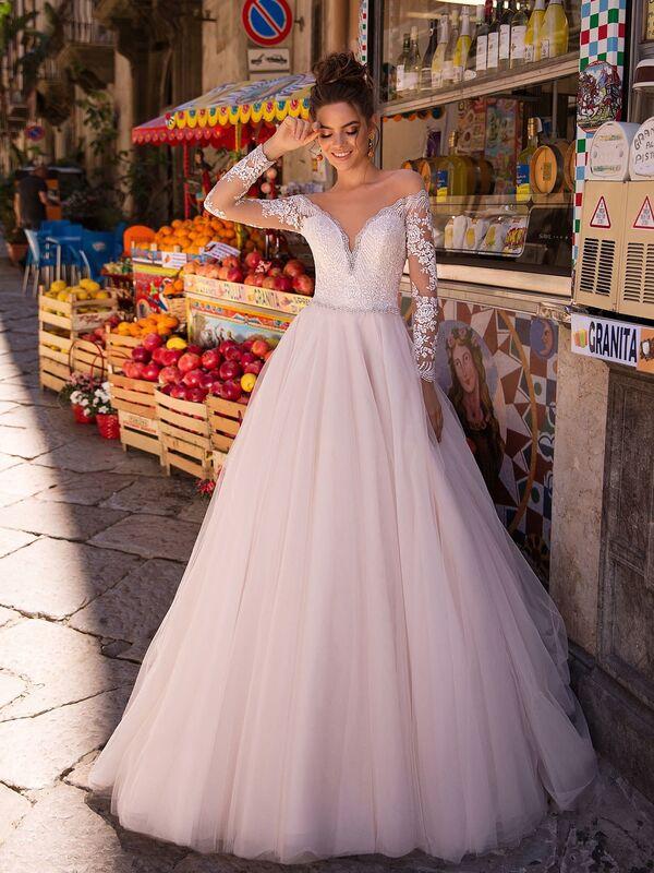 Свадебный салон Lussano Bridal Свадебное платье  Bonita 19037 - фото 1
