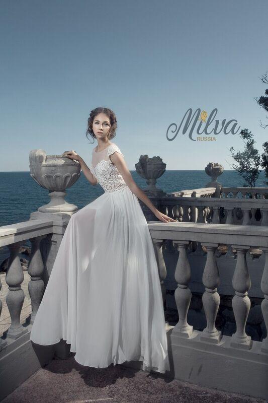 Свадебное платье напрокат Milva Платье свадебное Maldiva - фото 2