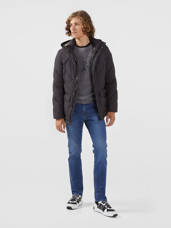 Кофта, рубашка, футболка мужская Trussardi Толстовка мужская 52F00087-1T002268 - фото 3