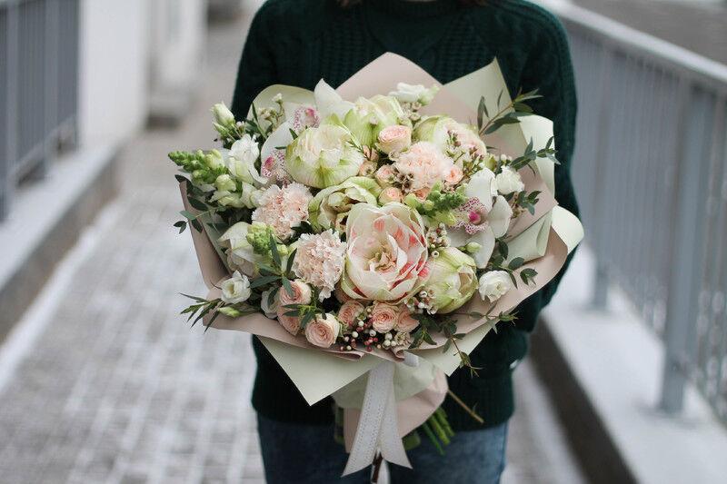 Магазин цветов Cvetok.by Букет «Грация» - фото 1