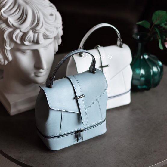 Магазин сумок Vezze Кожаный женский рюкзак  С00484 - фото 2