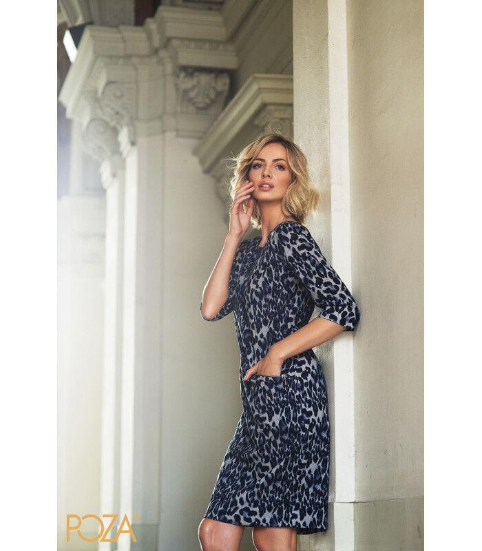 Платье женское Poza Платье Sabrina (гранатовое) - фото 2