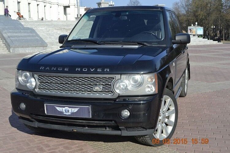 Прокат авто Range Rover Sport черного цвета - фото 2