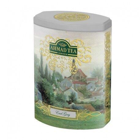 Подарок на Новый год Ahmad Чай «Fine Tea: Earl grey», в жестяной банке, 100 гр. - фото 1