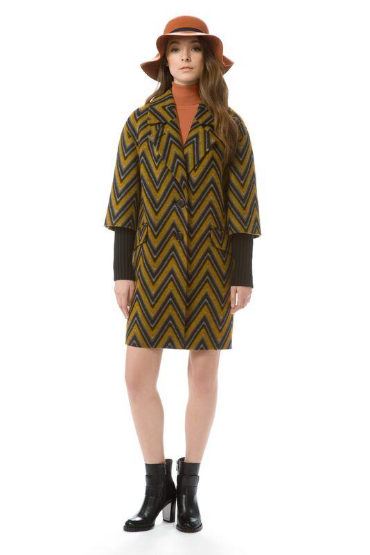 Верхняя одежда женская Elema Пальто женское демисезонное Т-6834 - фото 1