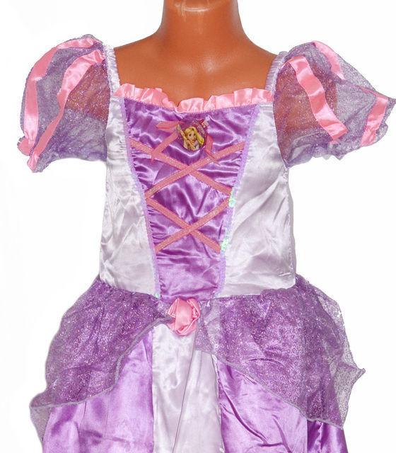 Карнавальный костюм Disney Платье карнавальное «Рапунцель» - фото 2