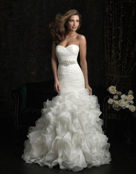 Свадебное платье напрокат Allure Bridals Платье свадебное 8966 - фото 1