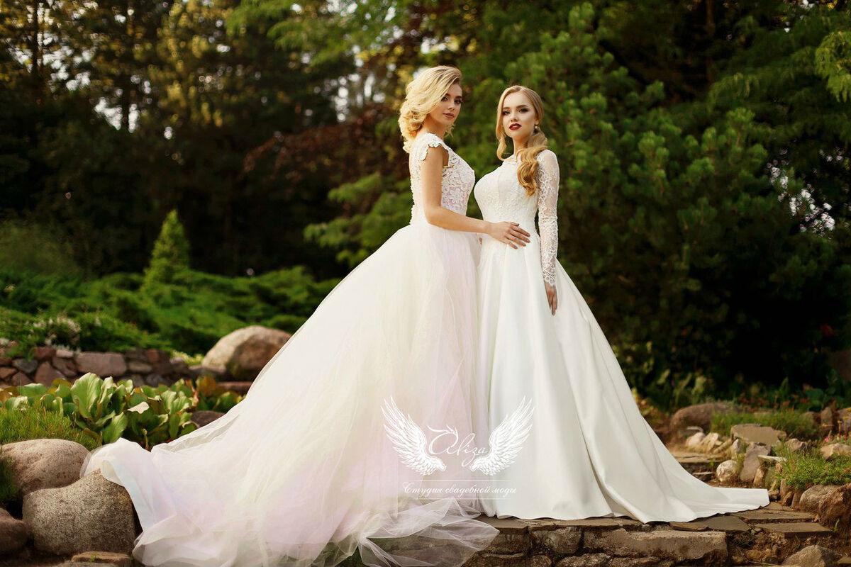 Свадебный салон ALIZA Платье свадебное «Грация» Soffito - фото 8