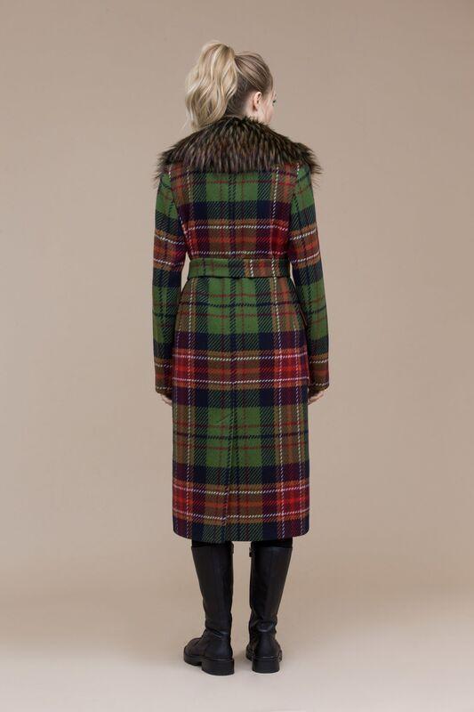 Верхняя одежда женская Elema Пальто женское демисезонное 1-7900-1 - фото 3