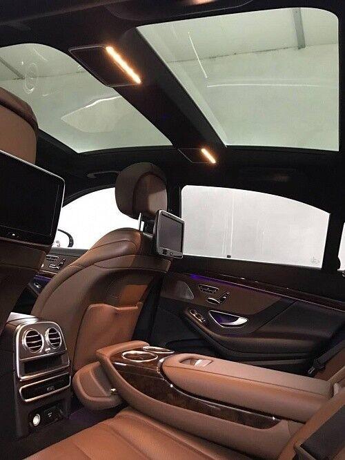 Прокат авто Mercedes-Benz W222 S-class черного цвета - фото 6
