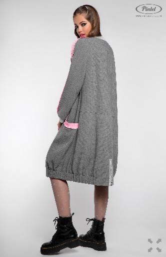 Платье женское Pintel™ Удлинённое платье-куртка  Limari - фото 3