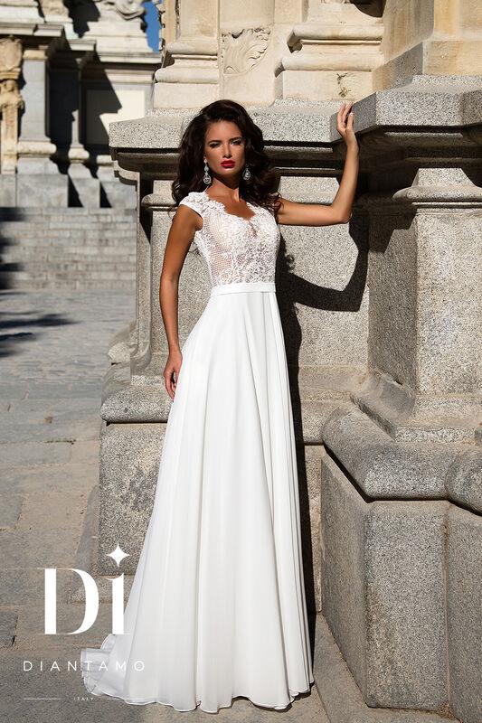 Свадебное платье напрокат Diantamo Платье свадебное Gracia - фото 3