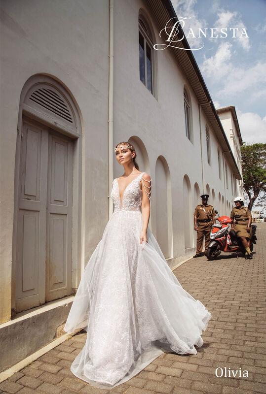 Свадебный салон Lanesta Свадебное платье Olivia - фото 1