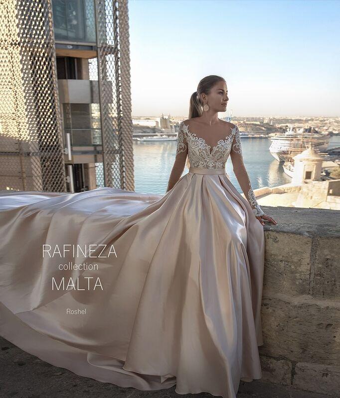 Свадебное платье напрокат Rafineza Свадебное платье Roshel напрокат - фото 1