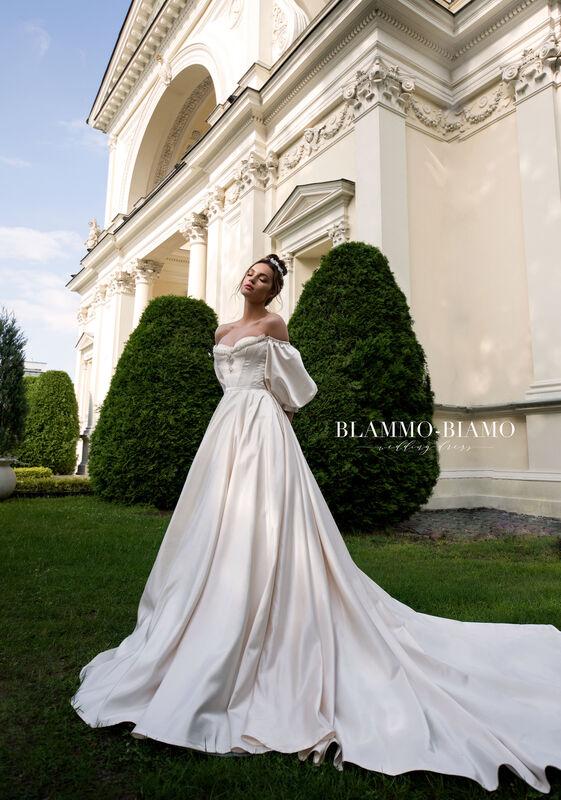 Свадебное платье напрокат Blammo-Biamo Платье свадебное The Rice Medea - фото 1