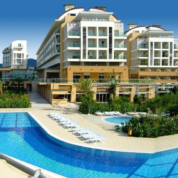 Туристическое агентство География Пляжный авиатур в Турцию, Аланья,  Hedef Resort Hotel & Spa 5* - фото 1