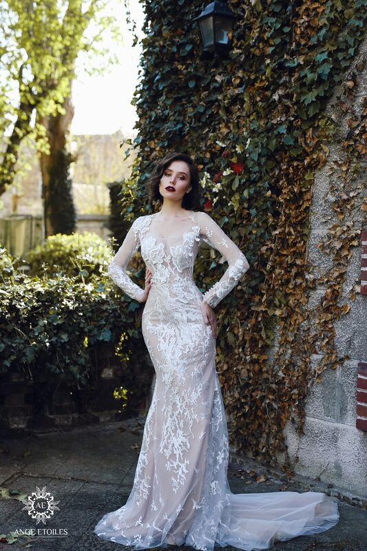 Свадебное платье напрокат Ange Etoiles Платье свадебное AEriality Collection Rosaly - фото 2