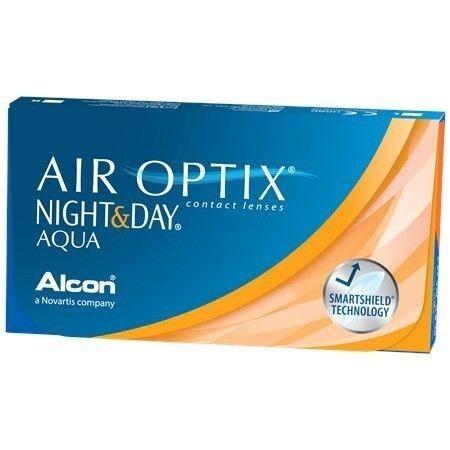 Линзы CIBA Vision Контактные линзы Air Optix Night&Day Aqua - фото 1