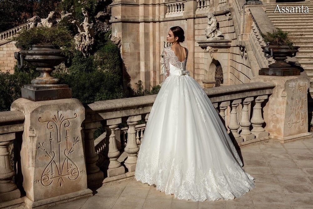 Свадебное платье напрокат Bonjour Платье свадебное «Assanta» из коллекции LA POESIE 2017 - фото 3