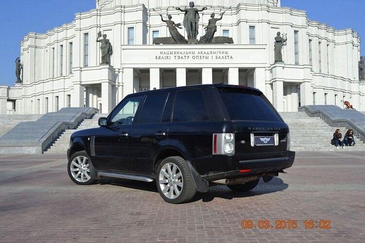 Прокат авто Range Rover Sport черного цвета - фото 3