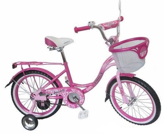 Велосипед Amigo Велосипед для девочек Brillante 18 - фото 1