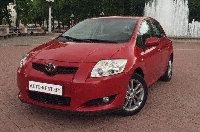 Аренда авто Toyota Аuris - фото 1
