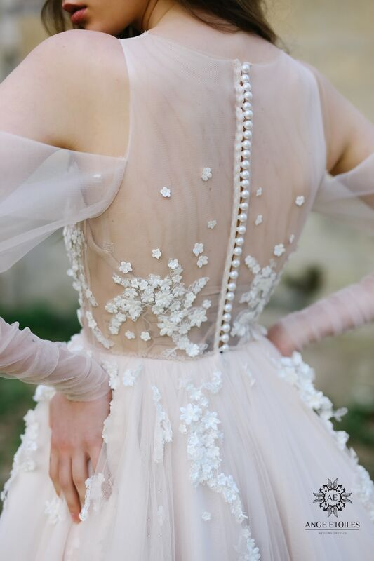 Свадебный салон Ange Etoiles Свадебное платье AEriality Collection  Antonia - фото 3