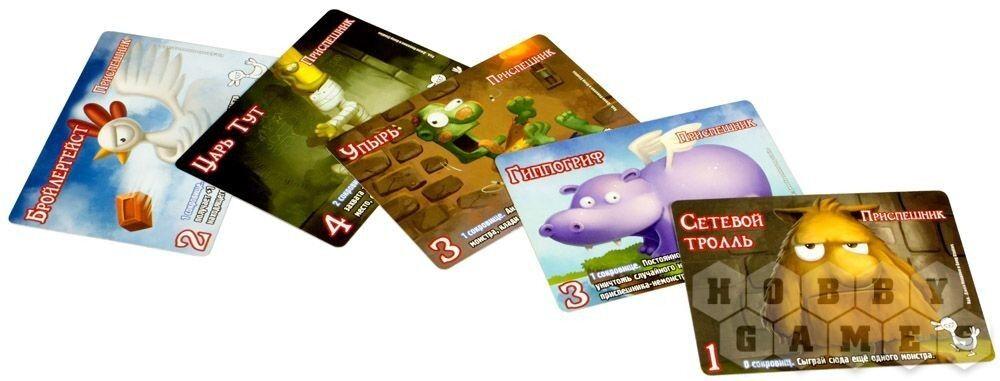 Подарок на Новый год Hobby World Игра настольная «Манчкин. Замес» - фото 2