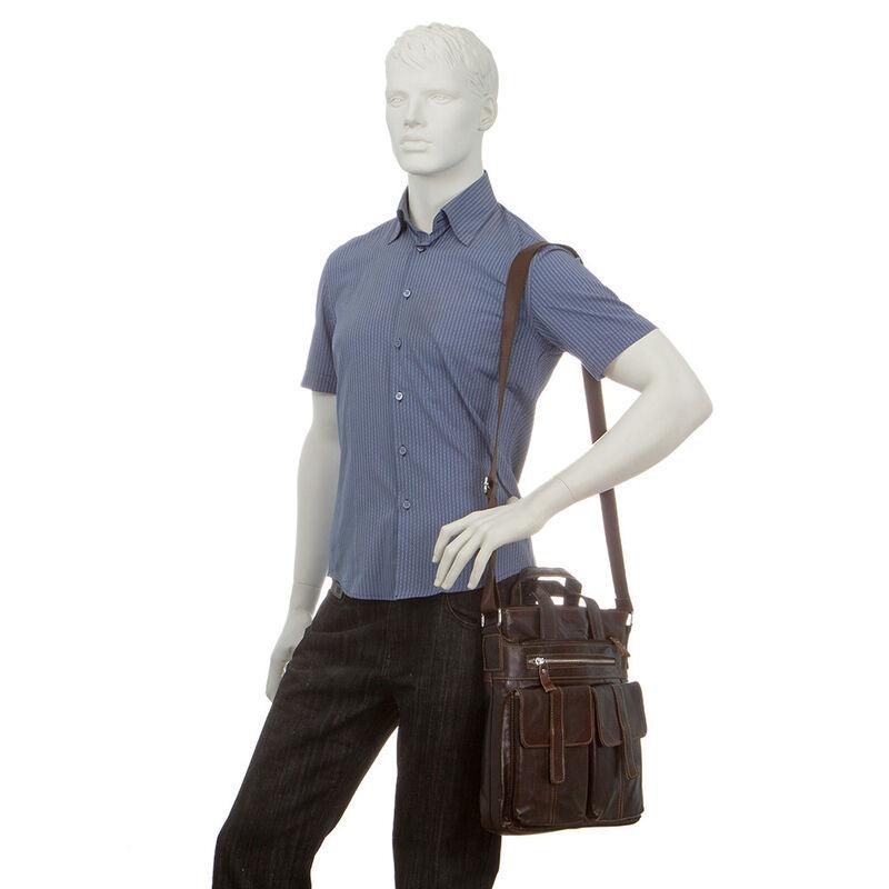 Магазин сумок Poshete Сумка мужская 196-3750-11 - фото 2