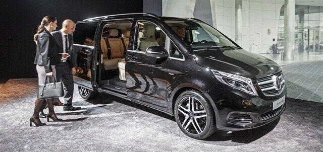 Аренда авто Mercedes-Benz V-class - фото 3