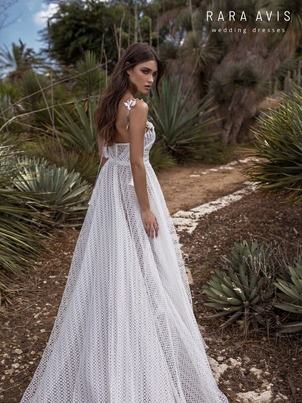 Свадебное платье напрокат Rara Avis Свадебное платье Wild Soul Neri - фото 2